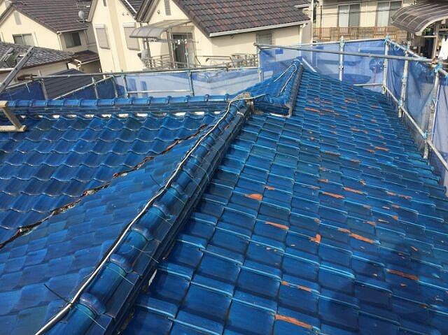 1.改修前の屋根の状態です(Before)
